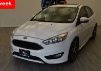 2016 ford Focus Se Best Of 2016 ford Focus Se Front Wheel Drive Sedan