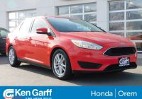2016 ford Focus Se Inspirational Pre Owned 2016 ford Focus Se Fwd 4dr Car