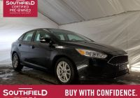 2016 ford Focus Se Luxury southfield Certified Pre Owned 2016 ford Focus Se
