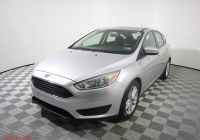 2016 ford Focus Se New Certified Pre Owned 2018 ford Focus Se Fwd Hatchback