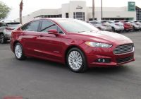 2016 ford Fusion Best Of Tucson Hybrid 2016