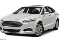 2016 ford Fusion Se Awesome 2016 ford Fusion Energi Specs and Prices