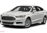 2016 ford Fusion Se Inspirational 2016 ford Fusion Hybrid Specs and Prices