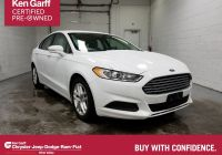 2016 ford Fusion Se Inspirational Pre Owned 2016 ford Fusion Se Fwd 4dr Car