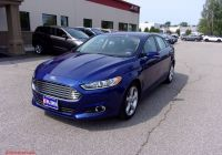 2016 ford Fusion Se New Pre Owned 2016 ford Fusion Se Fwd 4dr Car