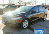 2016 ford Fusion Se New Pre Owned 2018 ford Fusion Se Fwd 4dr Car