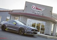 2016 ford Mustang Gt Inspirational Sema 2016 Cj S Stealth Gray Mustang Unveiled