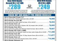 2016 Honda Accord Fresh Tv Facts January 19 2020 Pages 1 36 Text Version