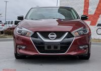 2016 Nissan Altima Luxury Pre Owned 2016 Nissan Maxima 3 5 Sl with Navigation