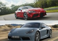 2016 Porsche Cayman Beautiful 2020 toyota Supra Vs 2019 Porsche 718 Cayman