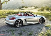 2016 Porsche Cayman Elegant Techart Porsche Boxster Silver Roadster Side View Wallpaper