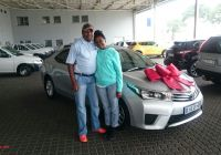 2016 toyota Corolla Elegant Congratulations to Mr and Mrs Magae On their toyota