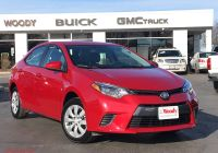 2016 toyota Corolla Le Fresh Used 2016 toyota Corolla for Sale at Woody Buick Gmc