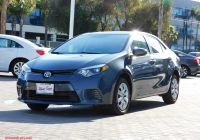 2016 toyota Corolla Le Lovely Pre Owned 2016 toyota Corolla Le Fwd 4dr Car