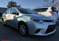 2016 toyota Corolla Le Luxury Pre Owned 2016 toyota Corolla L Fwd 4dr Car
