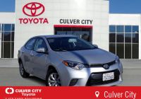 2016 toyota Corolla Le New Certified Pre Owned 2016 toyota Corolla Le Fwd 4dr Car