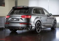 2017 Audi Q7 Luxury Audi Sq7 2016 Abt Wide Body Kit