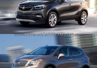 2017 Buick Encore New 2017 Buick Encore Vs 2013 Buick Encore Old Vs New