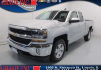 2017 Chevy Silverado Z71 Best Of Lincoln Il Used Chevrolet Silverado 1500 Vehicles for Sale