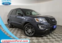 2017 ford Explorer Sport Luxury Pre Owned 2017 ford Explorer Sport with Navigation & 4wd