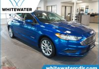 2017 ford Fusion Hybrid Fresh Pre Owned 2017 ford Fusion Hybrid Se Fwd 4dr Car