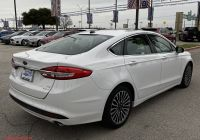 2017 ford Fusion Se Fresh Certified Pre Owned 2017 ford Fusion Se Fwd Sedan
