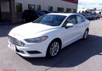 2017 ford Fusion Se Fresh Pre Owned 2017 ford Fusion Se Fwd 4dr Car