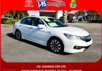 2017 Honda Accord Hybrid Awesome Pre Owned 2017 Honda Accord Hybrid touring Fwd 4dr Car