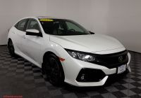 2017 Honda Civic Hatchback New Certified Pre Owned 2017 Honda Civic Hatchback Ex Fwd