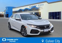 2017 Honda Civic Hatchback New Certified Pre Owned 2017 Honda Civic Hatchback Lx Fwd Hatchback