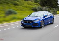 2017 Honda Civic Si Elegant 2017 Honda Civic Si First Drive Review