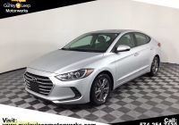2017 Hyundai Elantra Se Best Of Pre Owned 2017 Hyundai Elantra Se Fwd 4dr Car