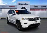 2017 Jeep Grand Cherokee Luxury Certified Pre Owned 2017 Jeep Grand Cherokee Overland with Navigation