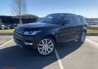 2017 Range Rover Sport Best Of Certified Pre Owned 2017 Land Rover Range Rover Sport Hse with Navigation & 4wd