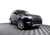 2017 Range Rover Sport Inspirational 2014 Land Rover Range Rover Sport Hse with Navigation & 4wd