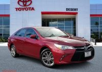 2017 toyota Camry Se Awesome Pre Owned 2017 toyota Camry Se Fwd 4dr Car