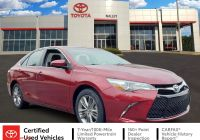 2017 toyota Camry Se Elegant Certified Pre Owned 2017 toyota Camry Se Fwd 4dr Car