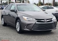 2017 toyota Camry Se Luxury Certified Pre Owned 2017 toyota Camry Le Fwd 4dr Car