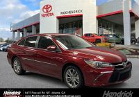 2017 toyota Camry Se New Pre Owned 2017 toyota Camry Se Fwd Sedan