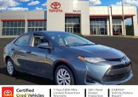 2017 toyota Corolla Le Best Of Certified Pre Owned 2017 toyota Corolla Le Fwd 4dr Car