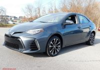2017 toyota Corolla Se Inspirational Pre Owned 2017 toyota Corolla Se Fwd 4dr Car