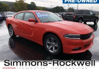 2018 Dodge Charger Sxt Beautiful Used 2018 Dodge Charger for Sale at Simmons Rockwell