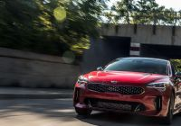 2018 Kia Stinger Gt1 Elegant 2018 Kia Stinger Gt by the Numbers