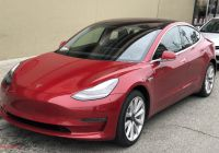2018 Tesla 3 Elegant Plug In Electric Vehicles In the United States