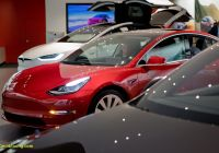 2018 Tesla Model 3 Luxury Tesla Model 3 Goes Upscale and Base Price Buyers Must Wait
