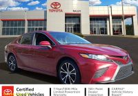 2018 toyota Camry Se Awesome Pre Owned 2018 toyota Camry Se Fwd 4dr Car