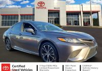 2018 toyota Camry Xle Unique Pre Owned 2018 toyota Camry Se Fwd 4dr Car