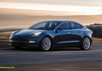 2019 Tesla Model 3 New 2019 Tesla Model 3 News Reviews Picture Galleries and
