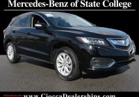 Acura Rdx 2016 Price Awesome Crystal Black Pearl 2016 Acura Rdx for Sale at Ciocca