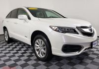 Acura Rdx 2016 Price Lovely Pre Owned 2016 Acura Rdx 3 5 Fwd Sport Utility